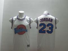 Revolution 30 Chicago Bulls #23 Michael Jordan white Stitched NBA Jersey