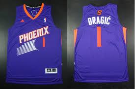 Adidas NBA Phoenix Suns 1 Goran Dragic New Revolution 30 Swingman Purple Jersey