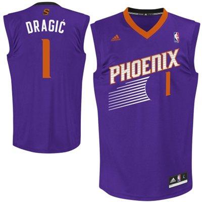 Adidas NBA Phoenix Suns 1 Goran Dragic Revolution 30 Road Purple jersey