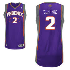 Adidas Phoenix Suns 2 Eric Bledsoe Authentic Home Jersey-purple