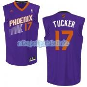 Phoenix Suns P.J. Tucker 17 Swingman Road Men NBA Jersey Purple jersey