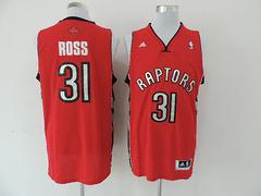 Toronto Raptors # 31 Ross Revolution 30 Red jersey