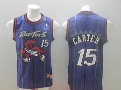 Toronto Raptors #15 Carter Purple Revolution 30 Swingman Jersey