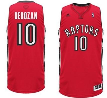 Toronto Raptors #10 Demar Derozan Revolution 30 Swingm
