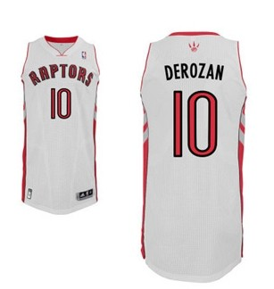 Toronto Raptors #10 Demar Derozan Revolution 30 Swingman white