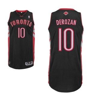 Toronto Raptors #10 Demar Derozan Revolution 30 Swingman Black