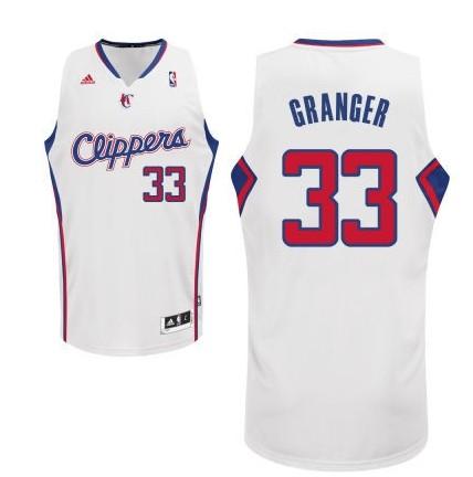 Los Angeles Clippers #33 Danny Granger Revolution 30 Swingman white