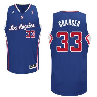 Los Angeles Clippers #33 Danny Granger Revolution 30 Swingman blue