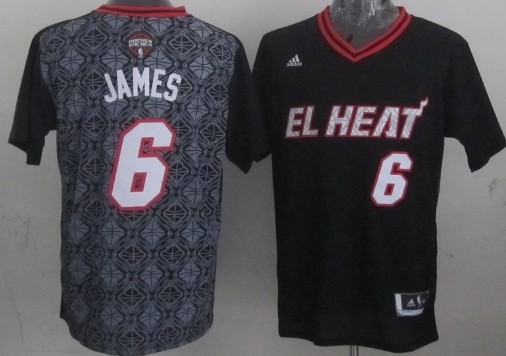 Miami Heat #6 LeBron James Revolution 30 Swingman 2014