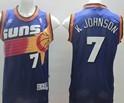 Phoenix Suns #7 Kevin Johnson Revolution 30 Swingman Purple jersey