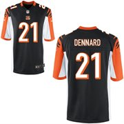 Nike Cincinnati Bengals 2014 NFL Draft #1 Pick Darqueze Dennard Black  Game Jersey