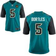 Nike Jacksonville Jaguars 2014 NFL Draft #1 Pick Blake Bortles Game Jersey – Teal