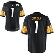 Nike Pittsburgh Steelers 2014 NFL Draft #1 Pick Ryan Shazier Black Game Jersey