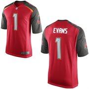 Nike Tampa Bay Buccaneers 2014 NFL Draft #1 Pick Mike Evans Red Game Jersey