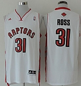 Revolution 30 Raptors #31 Terrence Ross White Stitched NBA Jersey
