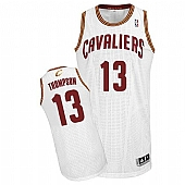 Revolution 30 Cavaliers #13 Tristan Thompson White Stitched NBA Jersey
