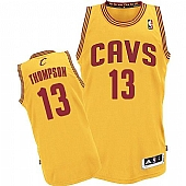 Revolution 30 Cavaliers #13 Tristan Thompson Yellow Stitched NBA Jersey