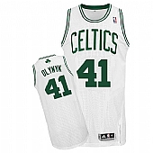 Revolution 30 Celtics #41 Kelly Olynyk White Stitched NBA Jersey