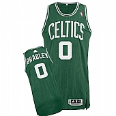 Revolution 30 Celtics #0 Avery Bradley Green(White No.) Stitched NBA Jersey