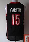 Revolution 30 Autographed Raptors #15 Vince Carter Black-Purple Stitched NBA Jersey