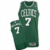 Revolution 30 Celtics #7 Jared Sullinger Green(White No.) Stitched NBA Jersey