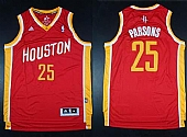 Revolution 30 Rockets #25 Chandler Parsons Red Alternate Stitched NBA Jersey