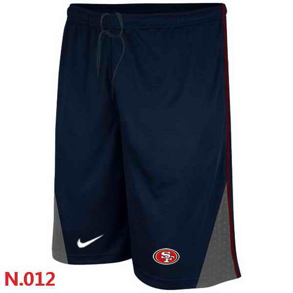Nike NFL San Francisco 49ers Classic Shorts Dark blue