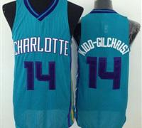 Revolution 30 Charlotte Hornets #14 Michael Kidd-Gilchrist Light Blue Stitched NBA Jersey