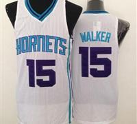 Revolution 30 Charlotte Hornets #15 Kemba Walker White Stitched NBA Jersey
