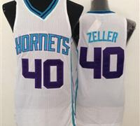 Revolution 30 Charlotte Hornets #40 Cody Zeller White Stitched NBA Jersey