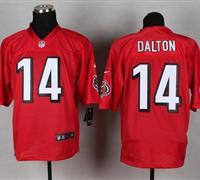 New Cincinnati Bengals #14 Andy Dalton Red NFL Elite QB Practice Jersey