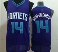 Revolution 30 Charlotte Hornets #14 Michael Kidd-Gilchrist Purple Stitched NBA Jersey