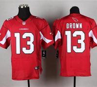 NEW Arizona Cardinals #13 Jaron Brown Red Team Color NFL Elite Jersey