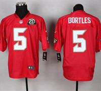 uars #5 Blake Bortles Red With 20TH Season Patch QB Practice Jersey