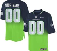NEW Seattle Seahawks Customized Drift Fashion II Elite NFL Jerseys