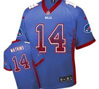 Youth NEW Bills #14 Sammy Watkins Royal Blue NFL Elite Drift Fashion Jersey