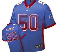 Youth Nike Bills #50 Kiko Alonso Royal Blue NFL Elite Drift Fashion Jersey
