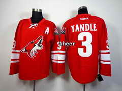 NHL Jersey Phoenix Coyotes #3 yandle red Jersey