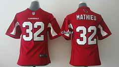 NFL Kids game Jersey Arizona Cardinals #32 Mathieu red Jersey