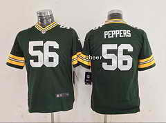NFL Kids Jersey Green Bay Packers #56 peppers green Jersey