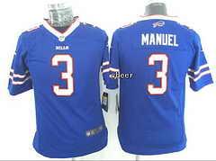 NFL Kids Jersey Buffalo Bills #3 manuel blue Jersey