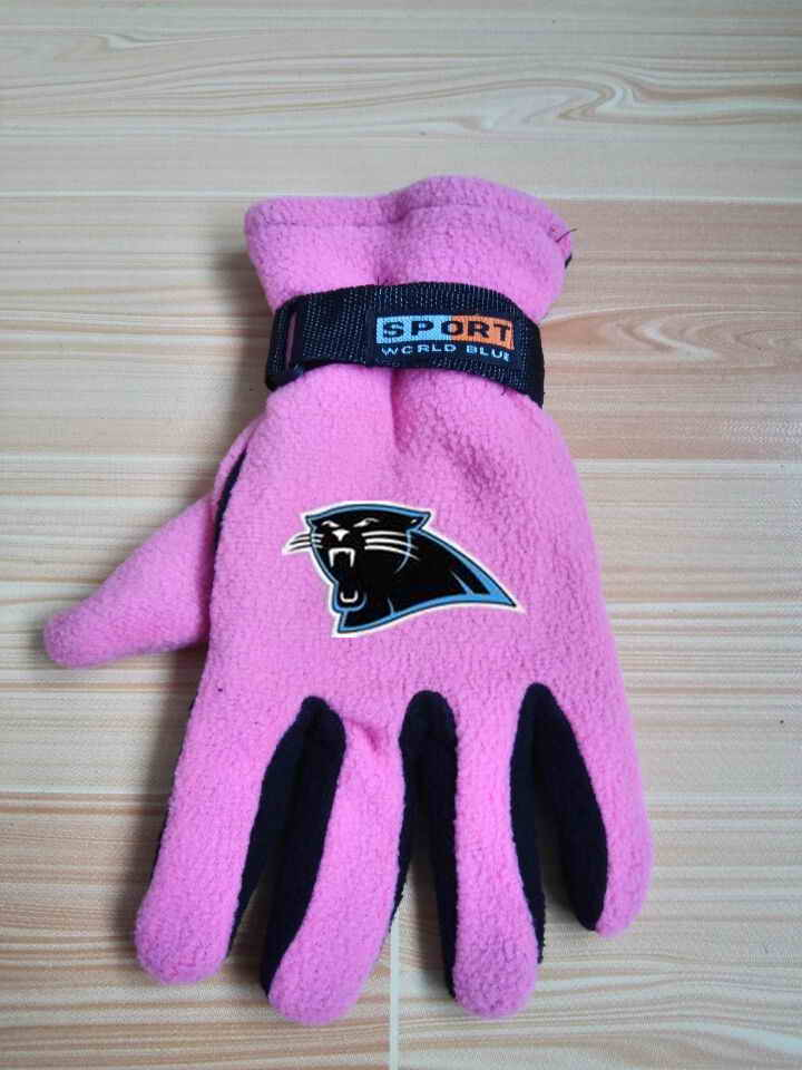 Panthers Winter Velvet Warm Sports Gloves5