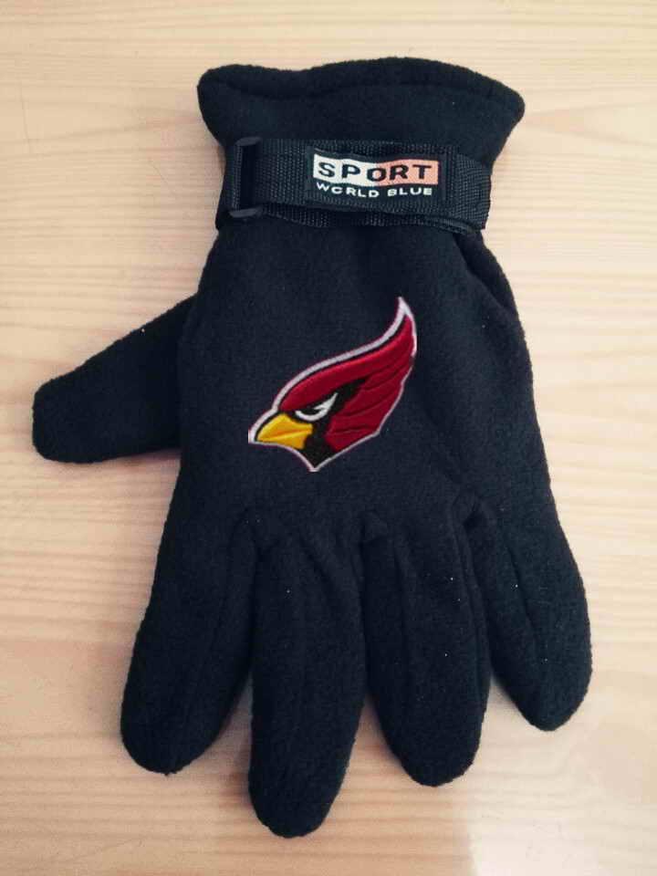 Cardinals Winter Velvet Warm Sports Gloves3