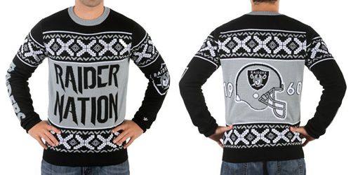 Nike Raiders Men's Ugly Sweater