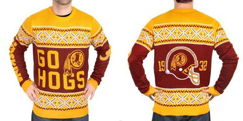 Nike Redskins Men's Ugly Sweater