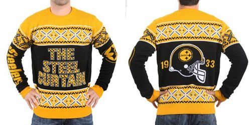 Nike Steelers Men's Ugly Sweater