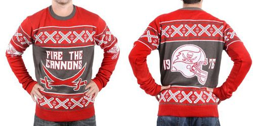 Nike Buccaneers Men's Ugly Sweater