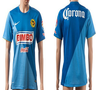2014-15 Club America Blank (or Custom) Home Soccer AAA+ T-Shirt