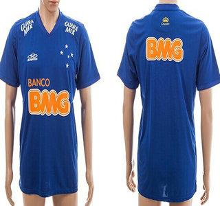 2014-15 Cruzeiro Esporte Clube Blank Home Soccer AAA+ T-Shirt