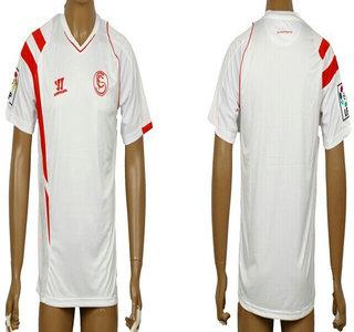 2014-15 Sevilla Club Blank (or Custom) Home Soccer AAA+ T-Shirt